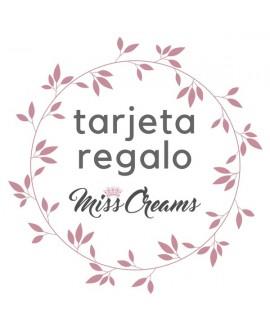 Tarjeta Regalo Miss Cream