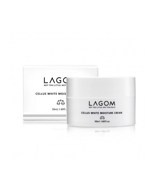 CELLUS WHITE MOISTURE CREAM. LAGOM 50 ML