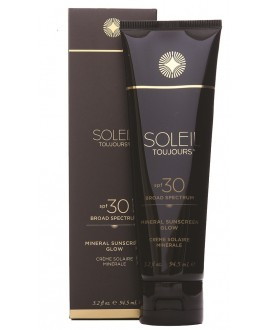 PROTECCIÓN SOLAR 100% MINERAL SPF30. GLOW. CUERPO. 95 ML SOLEIL TOUJOURS