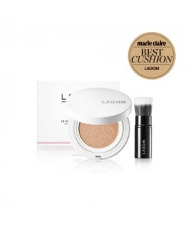 CF CUSHION & BRUSH. SPF 50+.LAGOM