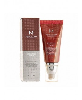 M PERFECT COVER BB CREAM. TONO 27 Honey Beige MISSHA, 50 ml