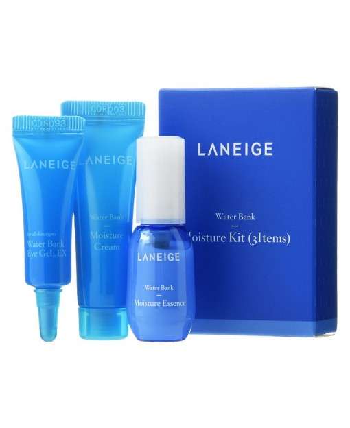 WATER BANK MOISTURE, KIT 3 PZAS LANEIGE