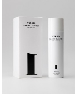 FOAMING CLEANSER, Verso Skincare