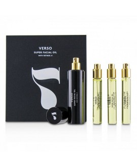 VERSO SUPER FACIAL OIL, 3 x 10 ml