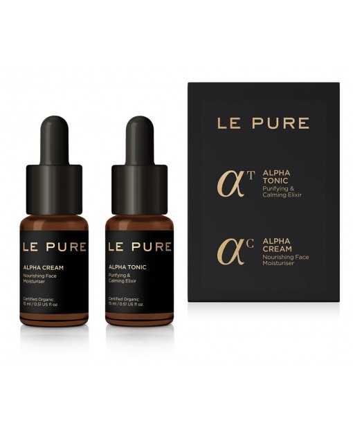 THE ALPHA MALE SET. Alpha Tonic+Alpha Cream. 15mlx2 LE PURE