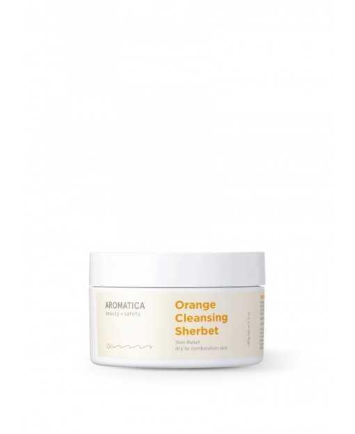 ORANGE CLEASING SHERBET, 180 gr. Aromatica