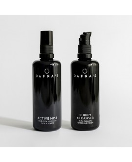 FRESH CLEANSING DUO, 100ml+100ml Dafna Skincare