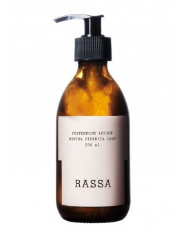 PEPPERMINT LOTION, 250ml Rassa Botanicals