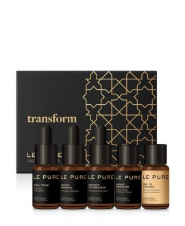 LE PURE TRANSFORM SET TRATAMIENTO 5pzas