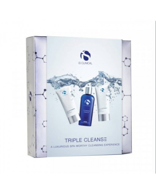 TRIPLE CLEANSER, 3 UNID. Is Clinical