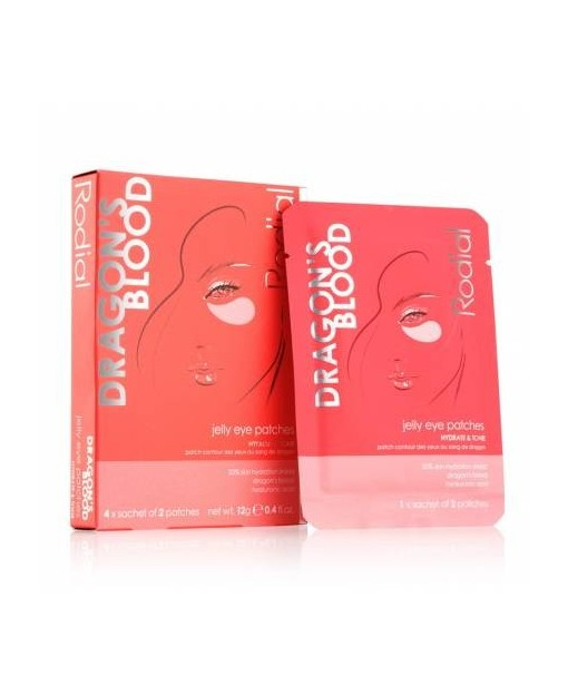 RODIAL DRAGON'S BLOOD JELLY EYE PATCHES, 4 pares