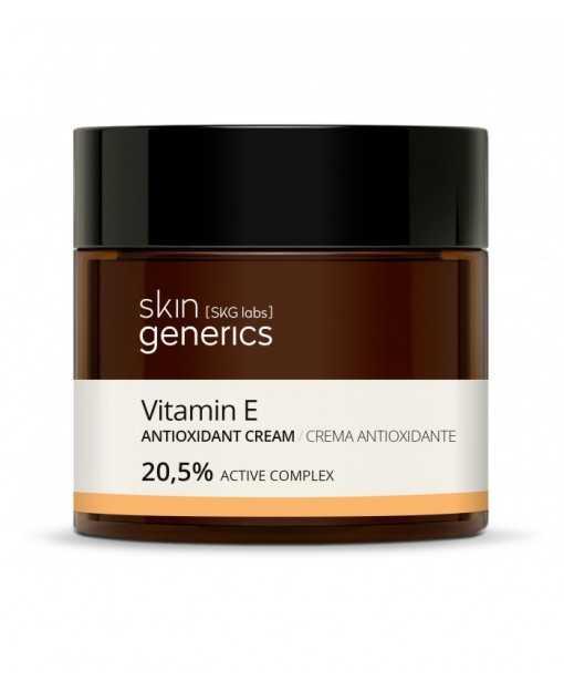 CREMA ANTIOXIDANTE VITAMINA E 20,5% Principio activo. Skin Gnerics