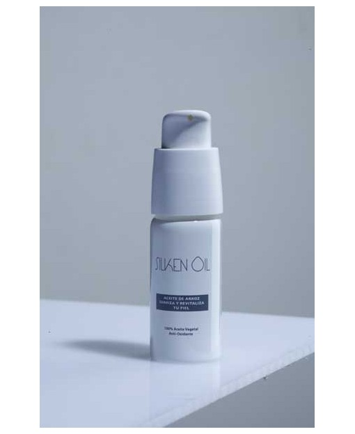 ACEITE DE GERMEN DE ARROZ. SILKEN OIL. ACEITE FACIAL. 20ml